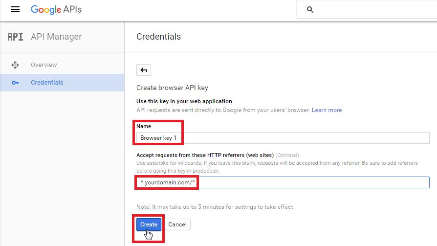 Generate Google Maps API Key – Go Fetch Jobs
