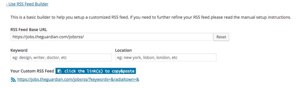 RSS Builder