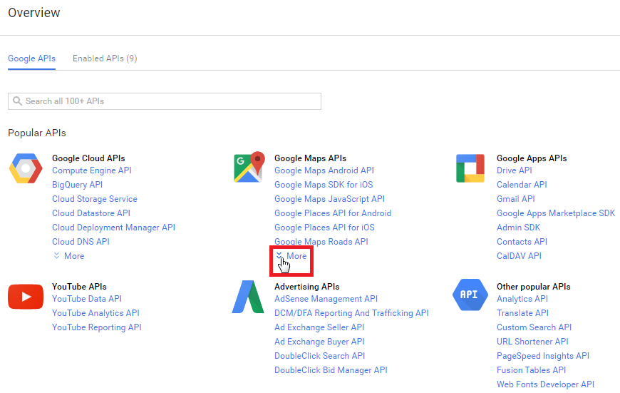 Generate Google Maps API Key – Go Fetch Jobs on